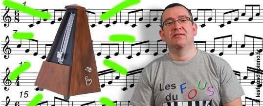 Comment utiliser le métronome au piano (sans avoir envie de le balancer par la fenêtre) ?