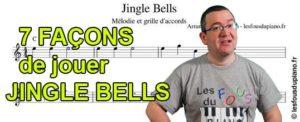 Read more about the article 7 façons de jouer Jingle Bells avec partitions (Traditionnelle, Ragtime, Rock, Valse)